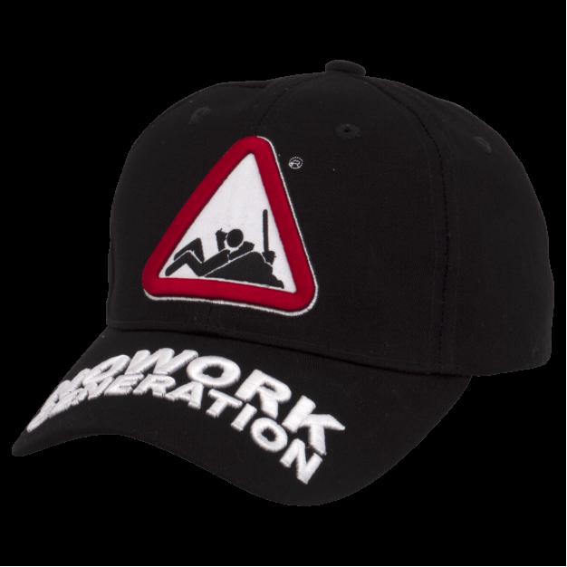 NOWORK GENERATION Black Baseball Cap
