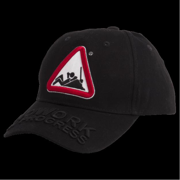 NOWORK IN PROGRESS Black Baseball Cap