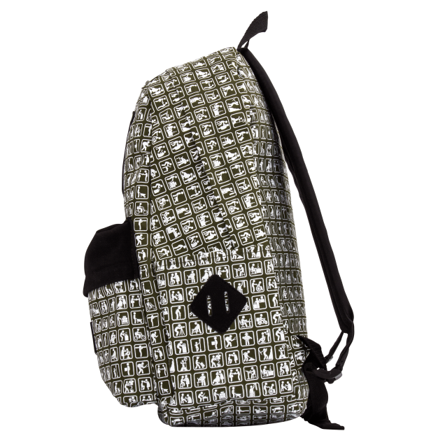 Green Backpack NOWORK Icons