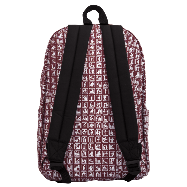 Pink Backpack NOWORK Icons