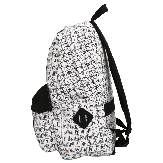 White Backpack NOWORK Icons