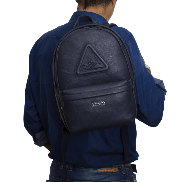 NOWORK IN PROGRESS BLUE Small Backpack