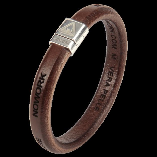 NOWORK GENERATION Men Brown Bracelet