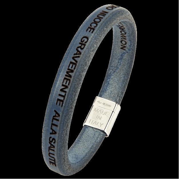 IL LAVORO NUOCE Men Blue Bracelet