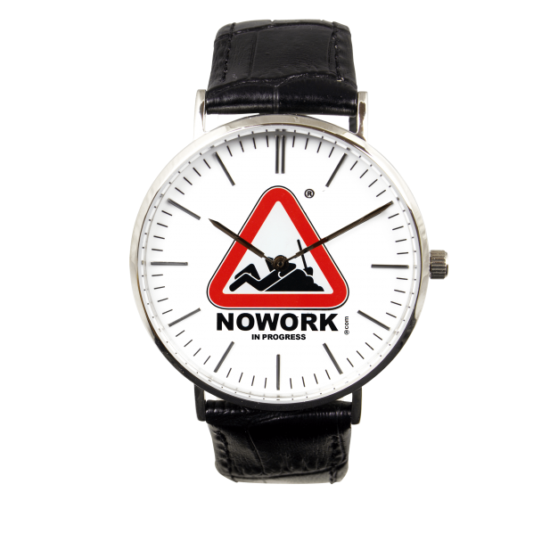 NOWORK IN PROGRESS WATCH SILVER