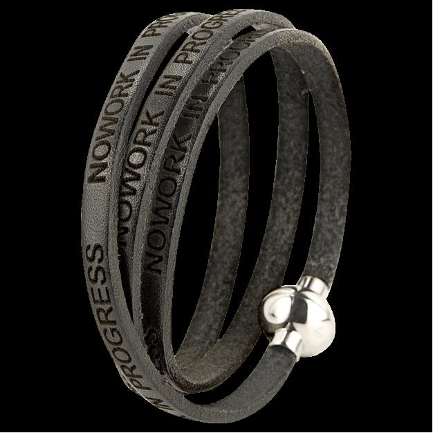 NOWORK IN PROGRESS Black Bracelet