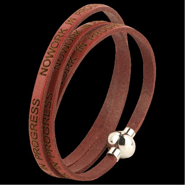 NOWORK IN PROGRESS  Red Bracelet