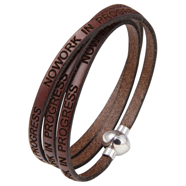 NOWORK IN PROGRESS Brown Bracelet