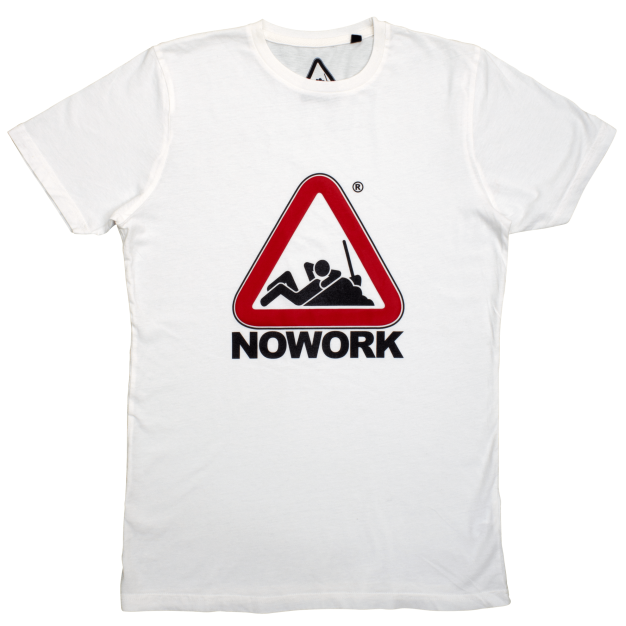 NOWORK Classic White T-Shirt