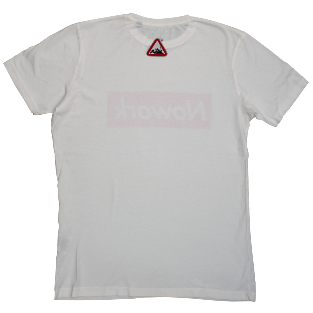 NOWORK Text White T-Shirt
