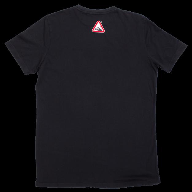 NOWORK Text Black T-Shirt