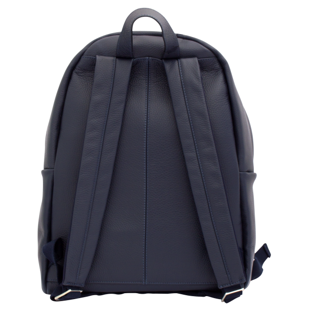 NOWORK IN PROGRESS Blue Leather Backpack