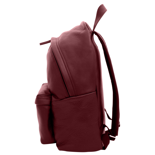 NOWORK IN PROGRESS Red Leather Backpack